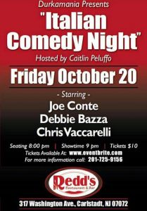 Joe Conte in East Rutherford @ Redd's Restaurant & Bar